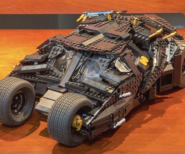 how to build a lego batman tumbler