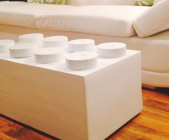 LEGO Brick Coffee Table