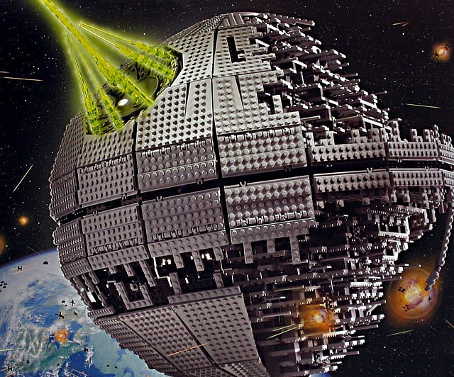 LEGO Death Star - coolthings.us