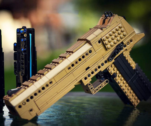 LEGO Desert Eagle Gun