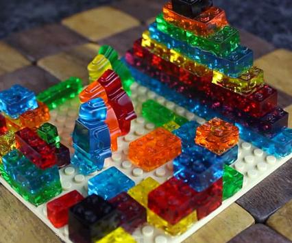 LEGO Gummy Candy Molds