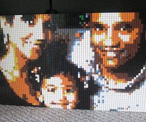 Custom LEGO Portrait