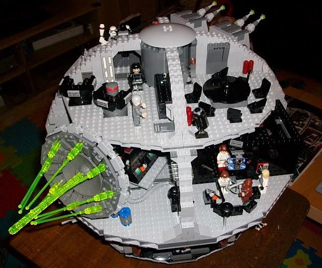 lego death star 10143 instructions