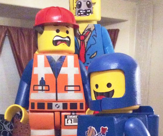& LEGO Costumes For Kids
