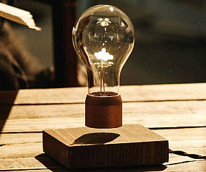 Levitating Light Bulb