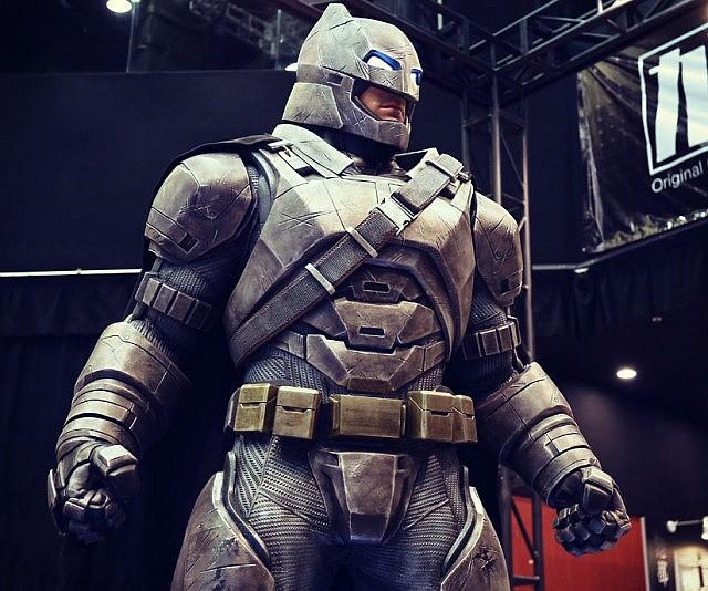 Life Size Armored Batman Figure