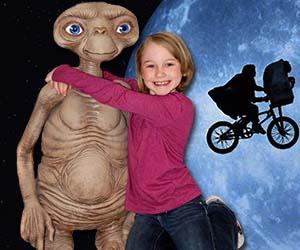 Life-Size E.T. Replica