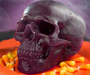 Edible Gummy Skull