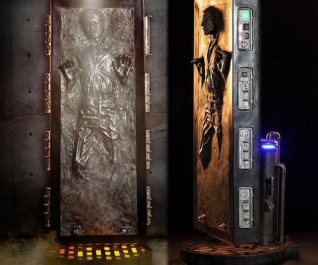 Life Size Frozen Han Solo