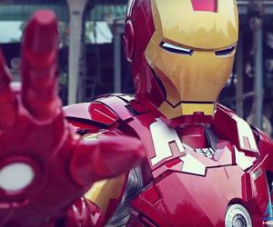Cool Life Size Iron Man Suit