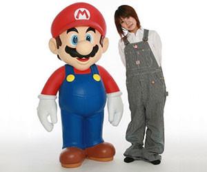 Life Size Super Mario Statue