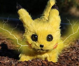 Life Size Pikachu Doll
