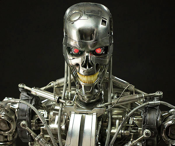 Life-Size Terminator T-800 End...