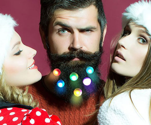 Light Up Beard Baubles - coolthings.us