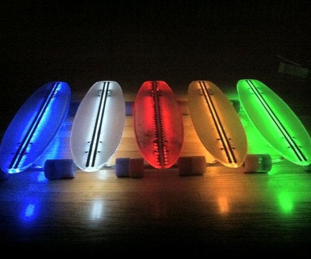 Skateboard Lamps up skateboard