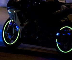Light Up Motorcycle Wheel Lights