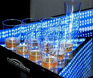 Light Up Musical Beer Pong Table