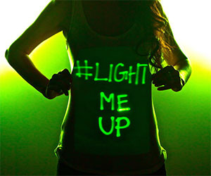 Light Painting Shirt