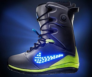 Light Up Snow Boots