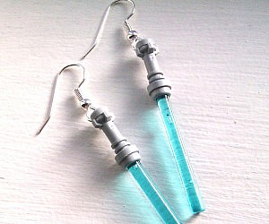 Star Wars Lightsaber Earrings