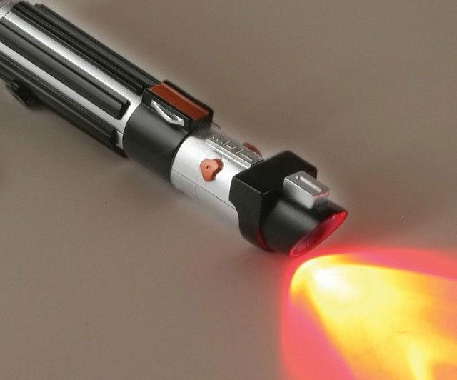 Lightsaber Keychain Flashlight