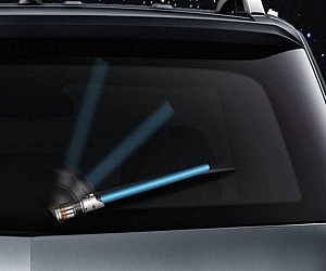 Lightsaber Rear Wiper Cover