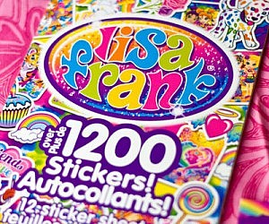 Lisa Frank Collector's Set Sticker Book