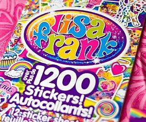 18c7c68594b1c Lisa Frank Collector's Set Sticker Book