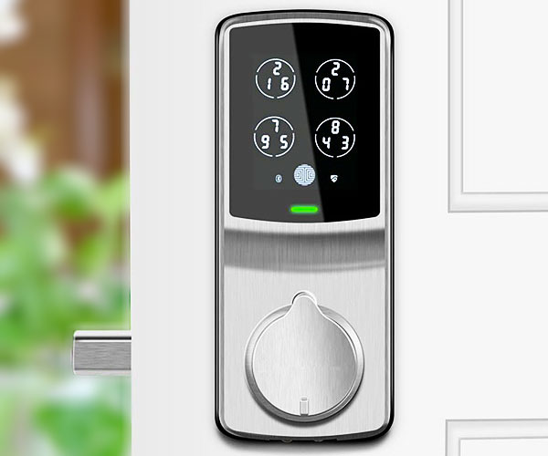 Fingerprint Keyless Entry Door Smart Lock