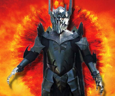 Lord Of The Rings Sauron Armor