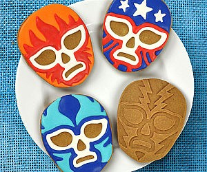 Lucha Libre Cookie Cutters