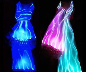 Luminous Scarves