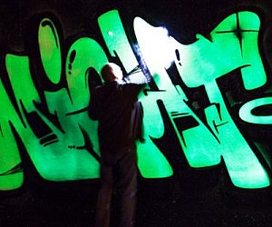 Luminescent Spray Paint