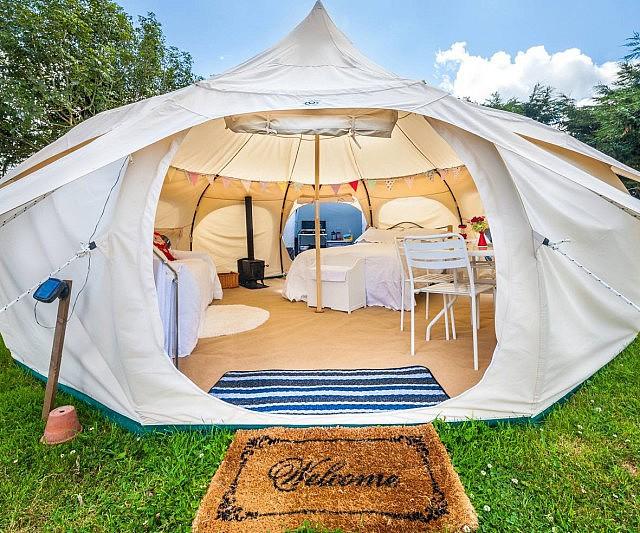 Luxury Canvas Tents & Canvas Tents