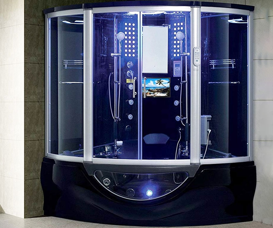 Luxury Computerized Steam Shower Sauna