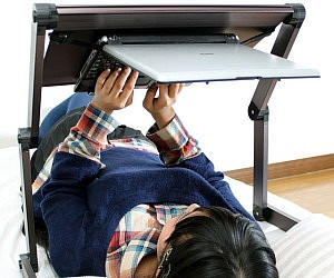 Lying Down Laptop Stand