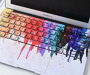 Dripping Paint MacBook Keyboard Cover