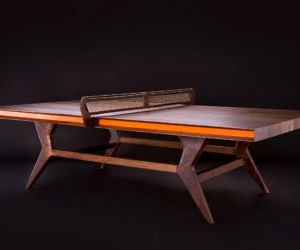 Mackenrow Wooden Ping Pong Table