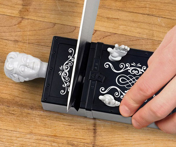 Magic Trick Knife Sharpener