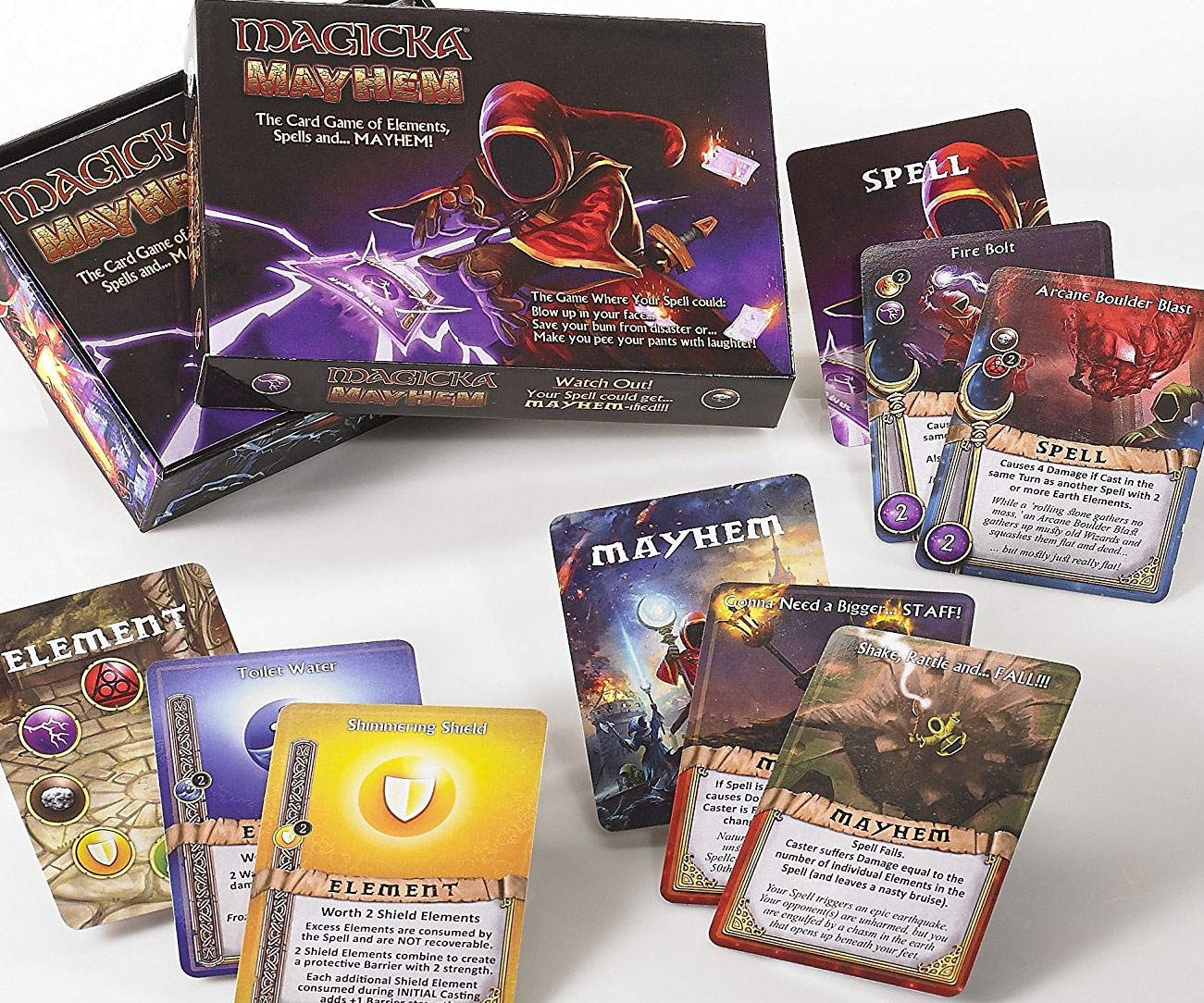 Magicka Mayhem Wizardry Card Game