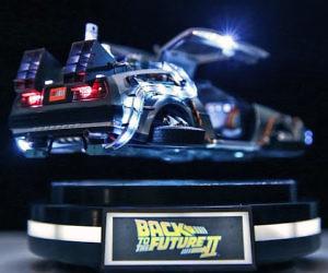Magnetic Floating DeLorean...