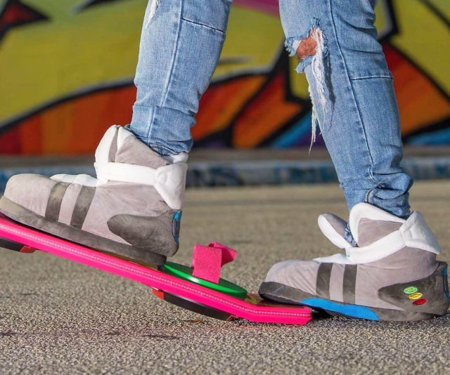 c1fd6ab41dd679 Marty McFly Mags Plush Slippers