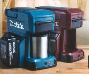 Makita Tool Battery Coffee Maker