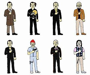 the many faces of bill murray print - Thrill Murray Coloring Book