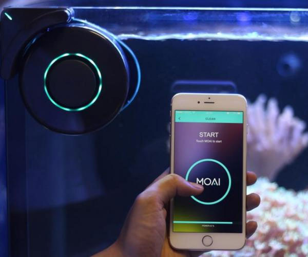 Moai Robotic Aquarium Cleaner