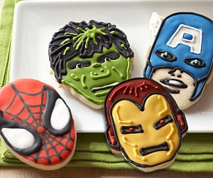 Marvel Cake Molds
