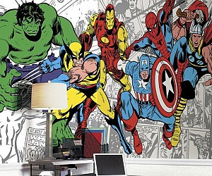 Marvel Classic Characters Wall Mural