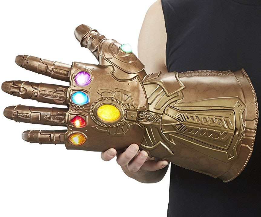 Articulated Infinity Gauntlet Electronic Fist