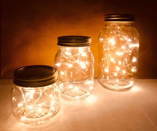 mason jar lights stellarlanedesigns
