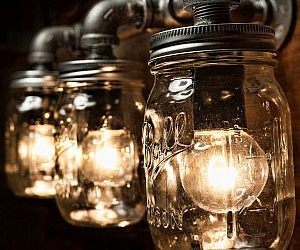 mason jars lighting. Mason Jars Lighting